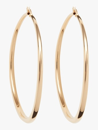 Roberto Coin Gold Hoop Earrings 1