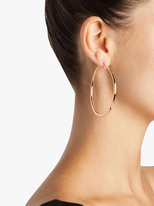 Roberto Coin Gold Hoop Earrings 1