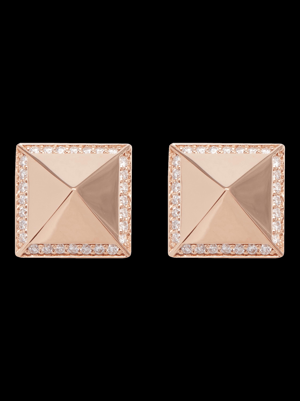 Obelisco Gold Earrings