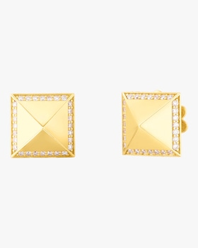 Obelisco Gold Earrings