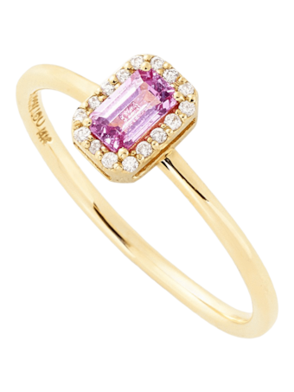S Diamond Stack Ring
