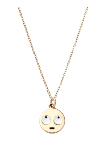 Eye Roll Necklace