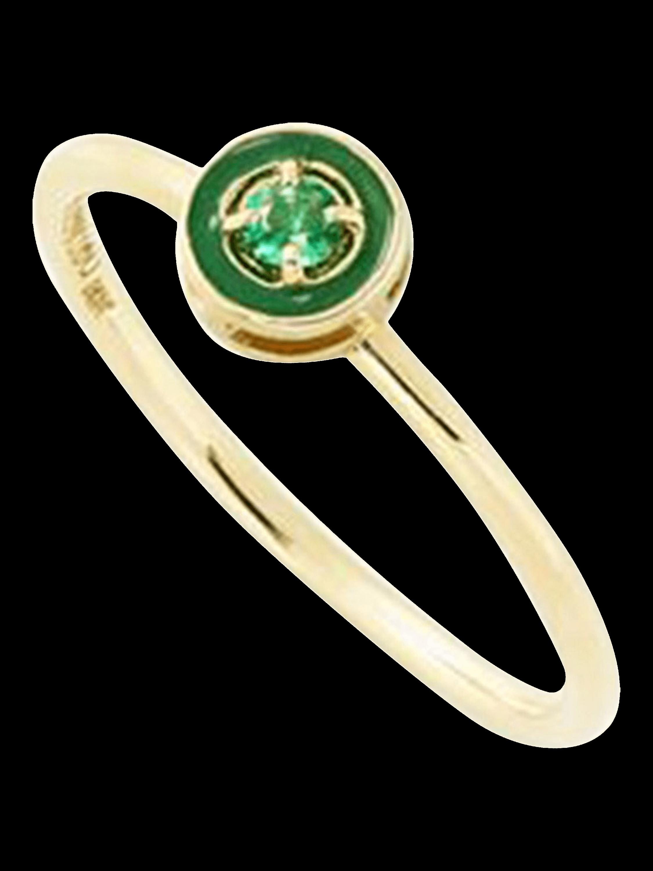 E Enamel Stack Ring