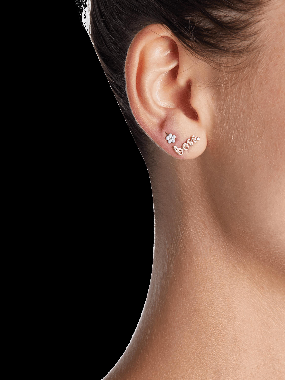 Boss Single Stud Earring