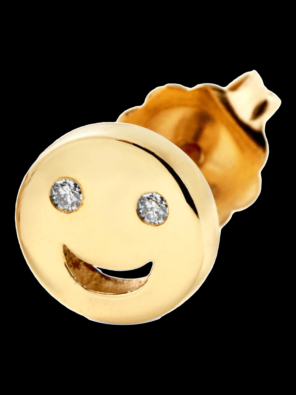 Happy Single Stud Earring