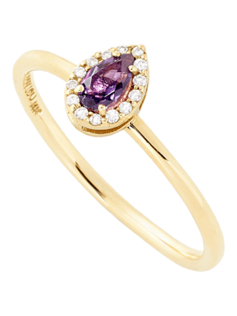 A Diamond Stack Ring