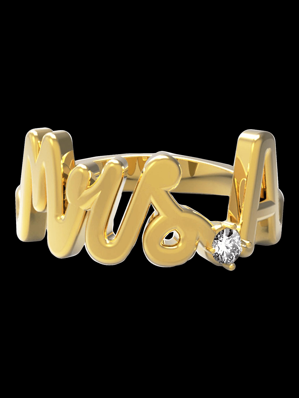 Mrs. Diamond Ring