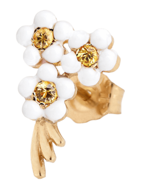 Bouquet of Flowers Single Stud Earring