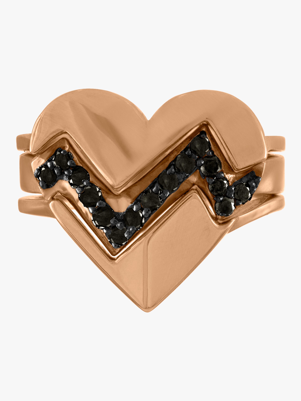 kWIT Heartthrob Three Part Ring 0