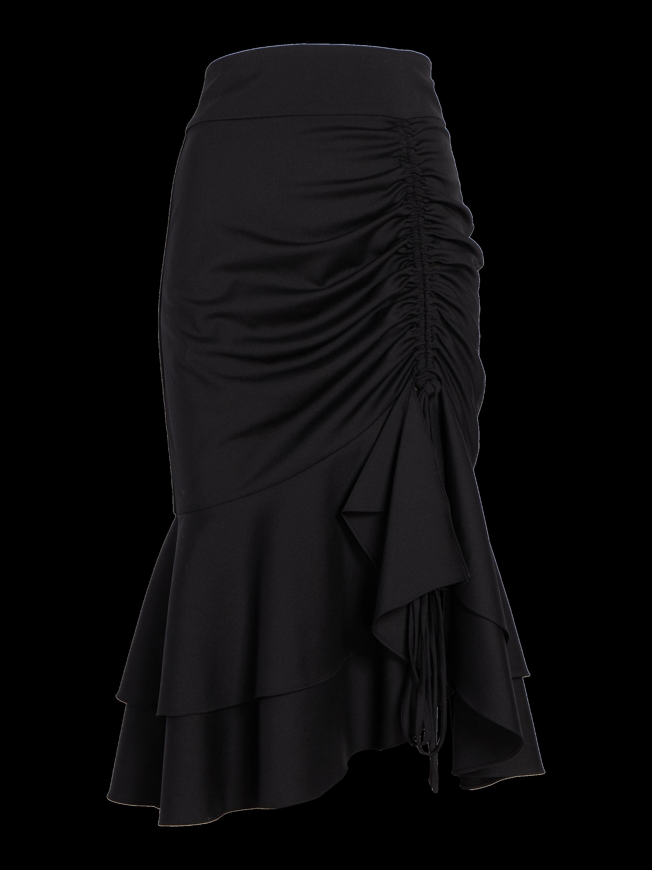 Short Drawstring Skirt