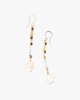 Melissa Joy Manning Limited Edition Gemstone Drop Earrings 1