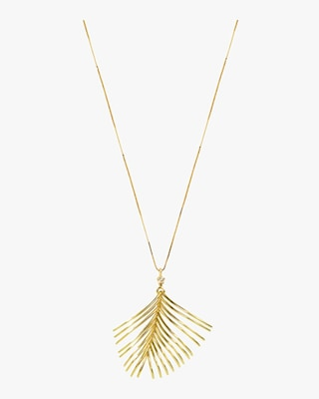 Essere Diamond Palm Pendant Necklace 1