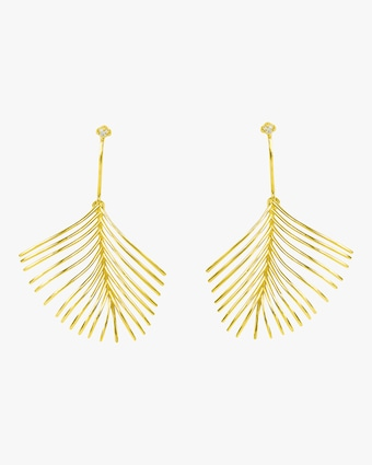 Essere Diamond Palm Earrings 1