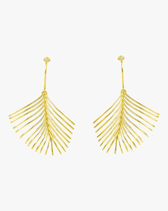 Essere Diamond Palm Earrings 0