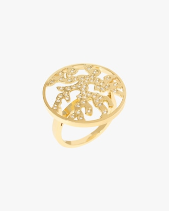 Essere Diamond Coral Ring 1