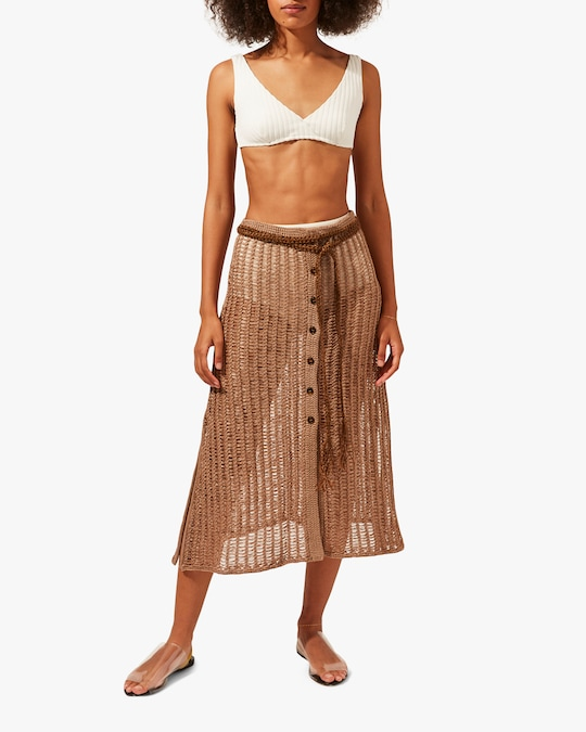 Solid & Striped The Vivienne Skirt 0