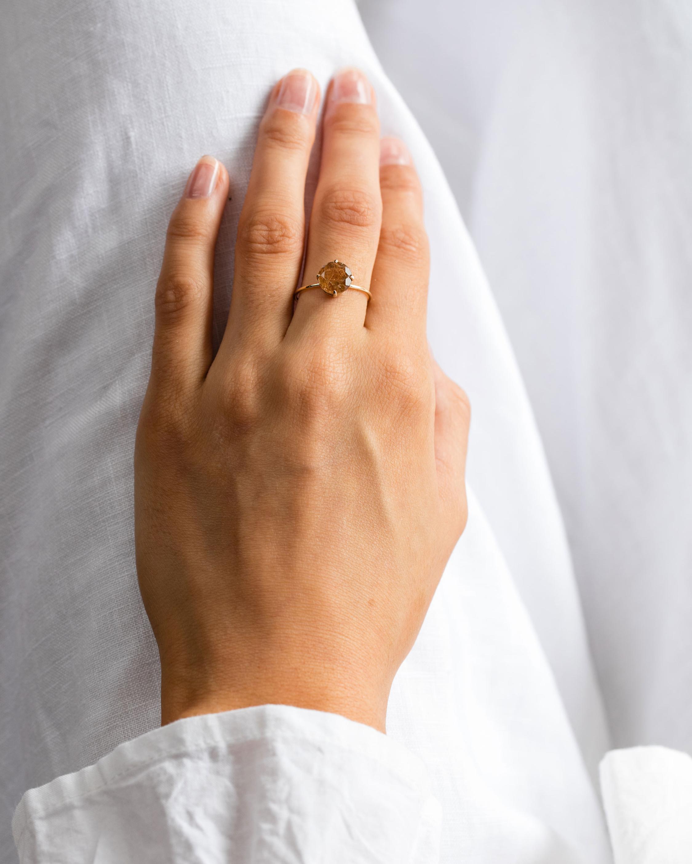 Natalie Marie Rutilated Quartz Ring 2