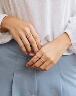 Natalie Marie Stone Wrap Ring 2