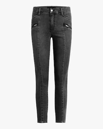 Joe's Jeans The Charlie Ankle Moto Zip Jeans 1