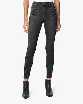 Joe's Jeans The Charlie Ankle Moto Zip Jeans 2