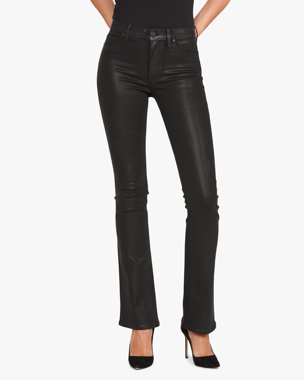 Hudson Barbara Faux Leather Pants 1