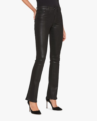 Hudson Barbara Faux Leather Pants 2