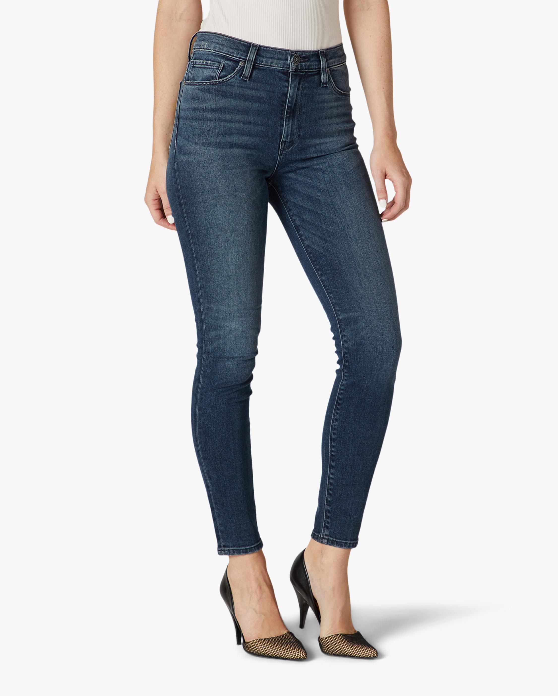Hudson Barbara High-Waist Super-Skinny Ankle Jeans 1
