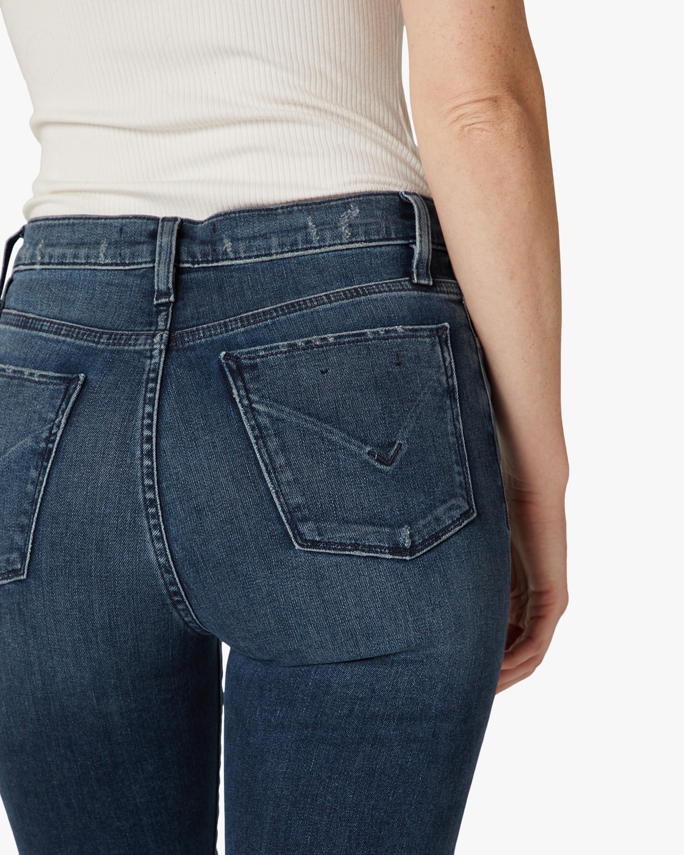Hudson Barbara High-Waist Super-Skinny Ankle Jeans 4