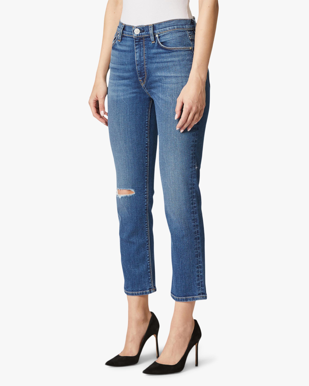 Hudson Barbara High-Waist Crop Straight Jeans 2