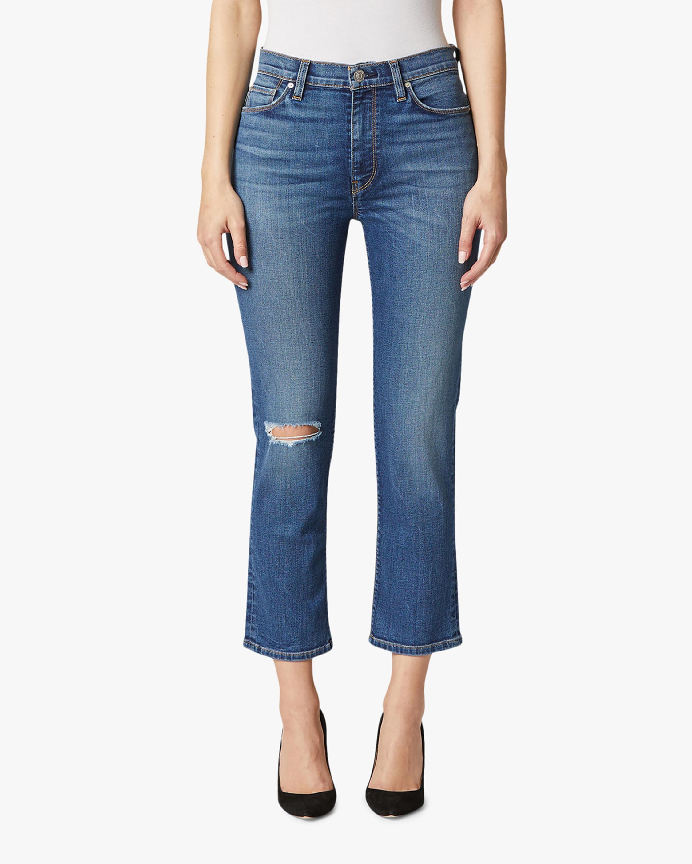 Hudson Barbara High-Waist Crop Straight Jeans 1
