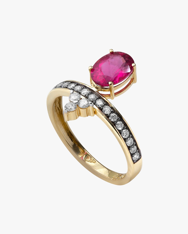 Dorion Soares Rubellite & Diamond Ring 0