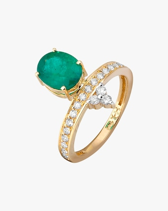 Dorion Soares Emerald & Diamond Ring 1