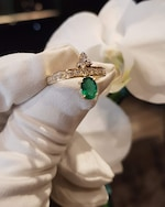 Dorion Soares Emerald & Diamond Ring 2