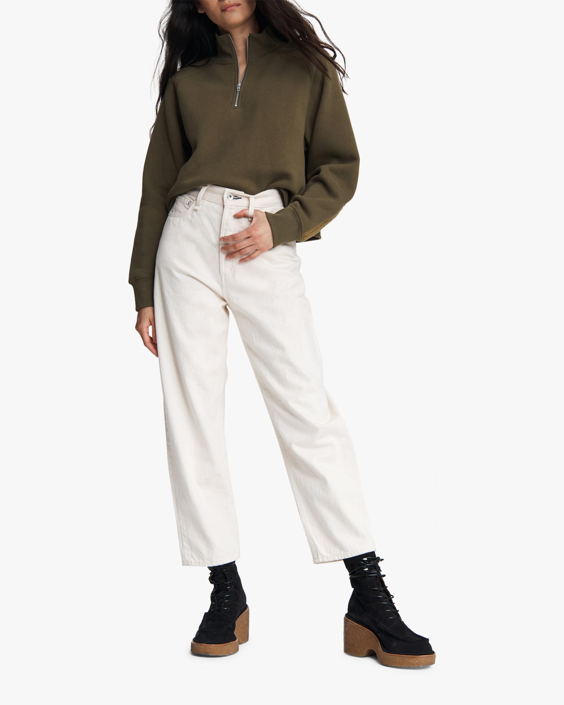 rag & bone Half-Zip Fleece Pullover 1