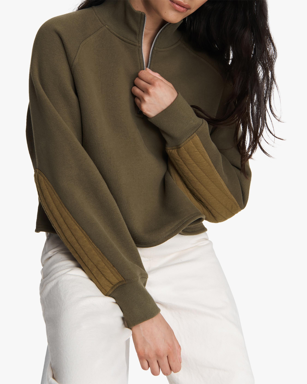 rag & bone Half-Zip Fleece Pullover 3