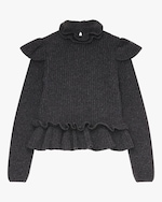 Ganni Frill Sweater 0