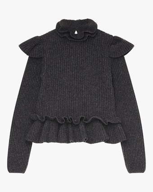 Ganni Frill Sweater 2