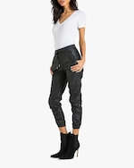 n:philanthropy Scarlett Vegan Leather Joggers 2