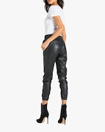 n:philanthropy Scarlett Vegan Leather Joggers 3