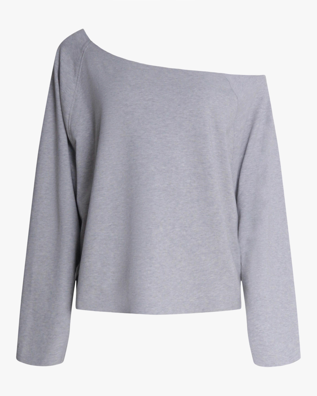 Norma Kamali Drop-Shoulder Sweatshirt 1