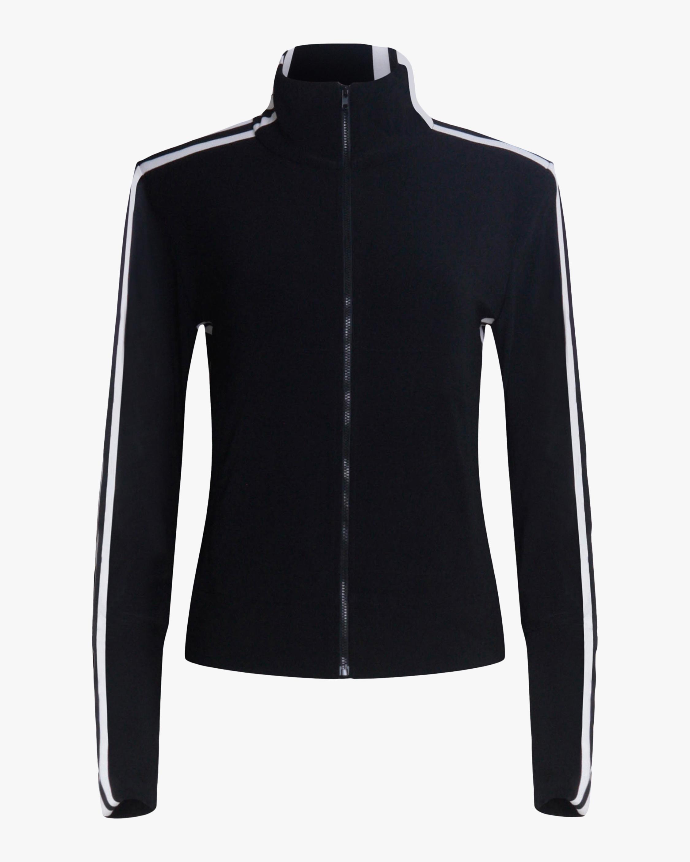 Norma Kamali Side-Stripe Track Jacket 1