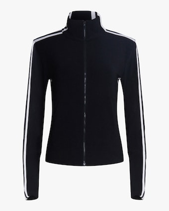 Norma Kamali Side-Stripe Track Jacket 1