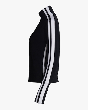 Norma Kamali Side-Stripe Track Jacket 2
