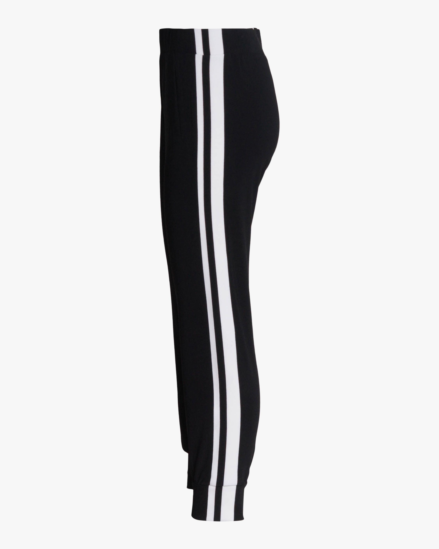 Norma Kamali Side-Stripe Joggers 1
