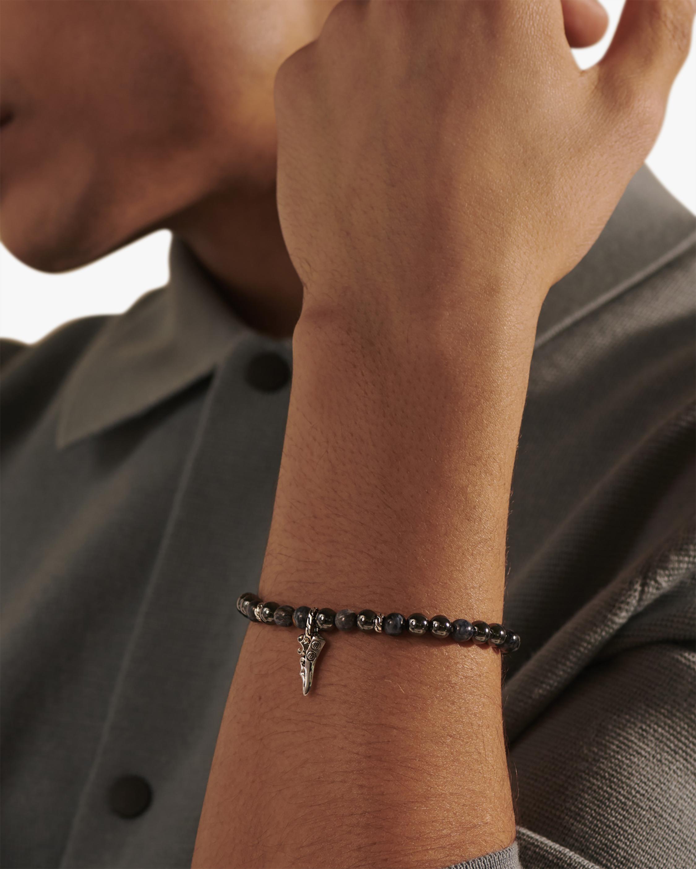 John Hardy Men's Keris Dagger Beaded Bracelet 2