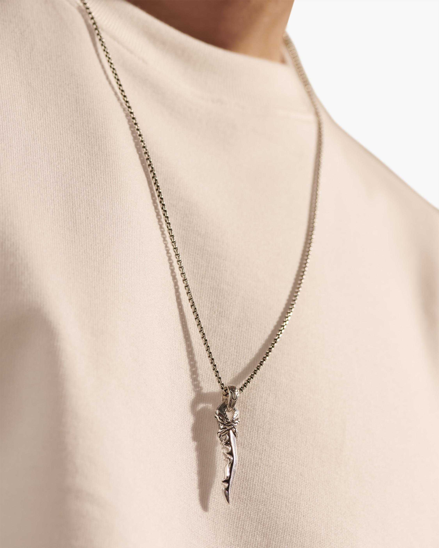 John Hardy Men's 26in Keris Dagger Pendant Necklace 1