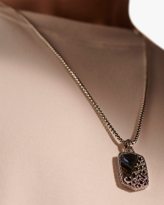 John Hardy Men's Keris Dagger Dog Tag Pendant Necklace 1