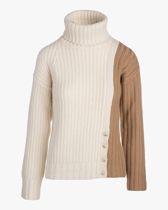 Naadam Color Block Turtleneck 2