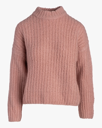 Naadam Ribbed Chunky Mockneck Sweater 2