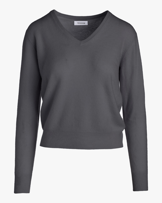 Naadam V-Neck Cashmere Pullover 0